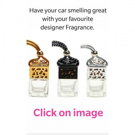 Any x4 designer car fragrances